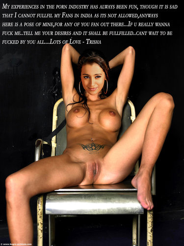 j08ggtnz0x57 t Trisha Nude Showing her Boobs n her Pussy [Fake]